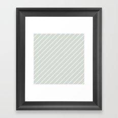 Follow the arrows Framed Art Print