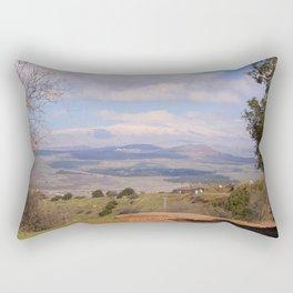 Mount Hermon, Israel Rectangular Pillow