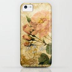 La Vie en Rose iPhone 5c Slim Case