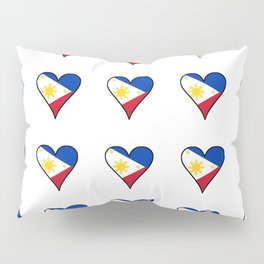 Flag of Philippines 3 -Pilipinas,Filipinas,filipino,pinoy,pinay,Manila,Quezon Pillow Sham