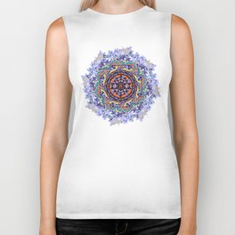 En Force Sri yantra Biker Tank