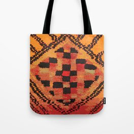 Tribal Shaman Badge Tote Bag