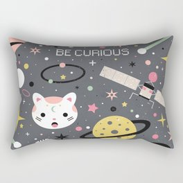 Be Curious  Rectangular Pillow