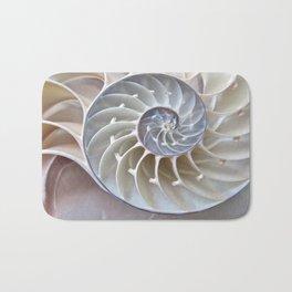 Nautilus Shell Bath Mat