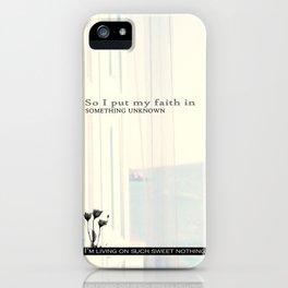Sweet Nothing iPhone Case