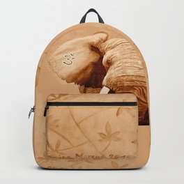 OM - ELEFANT sepia Backpack