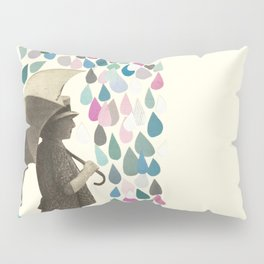 Rain Dance Pillow Sham