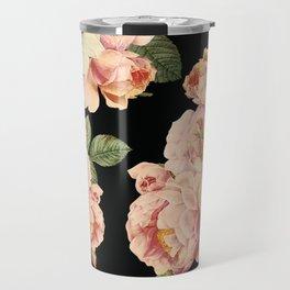 Flora temptation - night Travel Mug