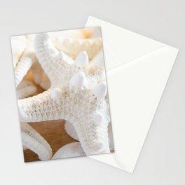 White Starfish Stationery Cards