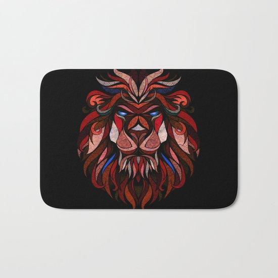 Red Lion Bath Mat