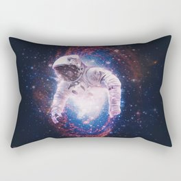 Between Dimensions Rectangular Pillow