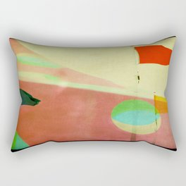 The Day the Circus Came to Town Rectangular Pillow