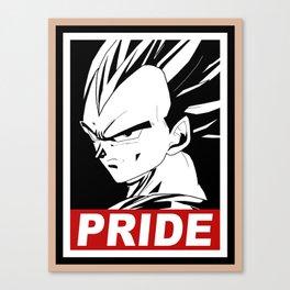 Vegeta pride Canvas Print