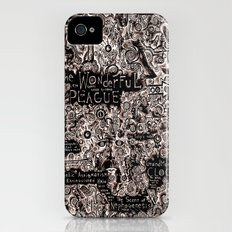 The Wonderful Plague iPhone (4, 4s) Slim Case