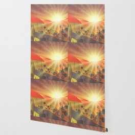 Soleil Levant Wallpaper