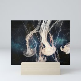 Space Jellyfish Mini Art Print