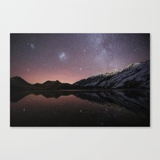 Moke Lake Canvas Print