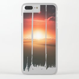 When the day breaks Clear iPhone Case