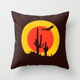 vulture song Throw Pillow