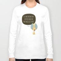 chihuahua Long Sleeve T-shirts featuring Chihuahua by Fabio Rex
