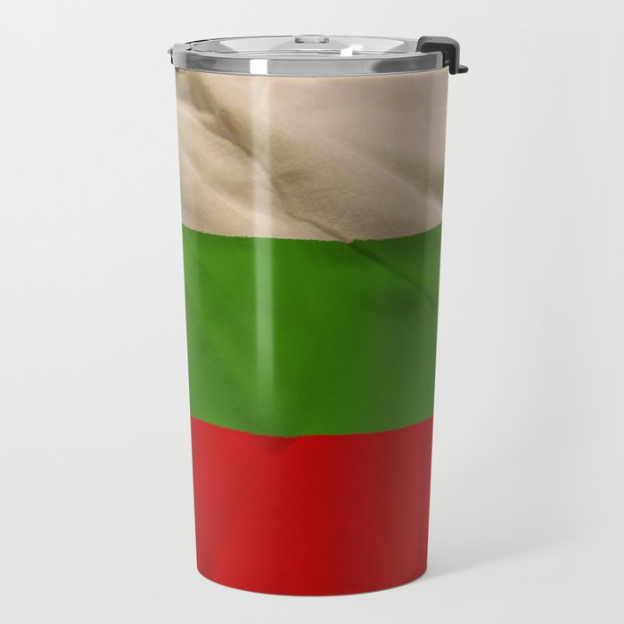 Bulgarian flag Travel Mug