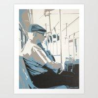 ROUTE 120 Art Print