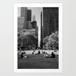 Pause - Vertical Art Print