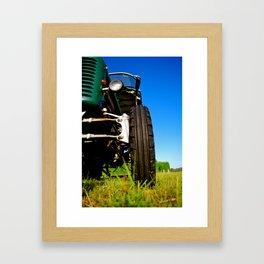A Day at the Farm Framed Art Print