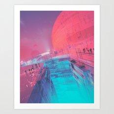 DVIDE (everyday 11.25.15) Art Print