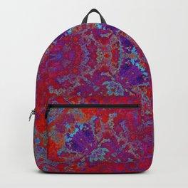 Grunge backward vintage texture SB2 Backpack