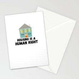 Housing is a Human Right Stationery Cards