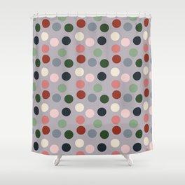 Tropical polka dots #homedecor Shower Curtain