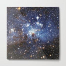 Cosmic Blues (Large Magellanic Cloud) Metal Print