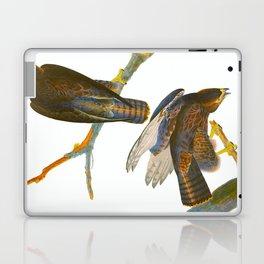 Black Warrior Bird Laptop & iPad Skin