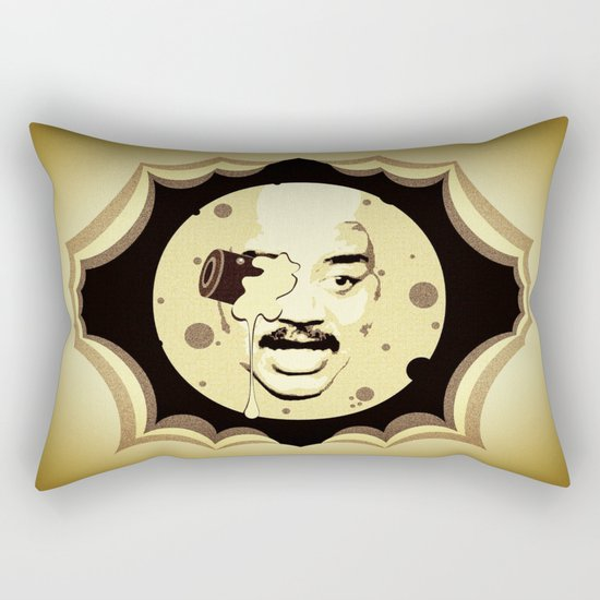 Neil deGrasse Tyson  |  Le Voyage Dans La Lune Rectangular Pillow