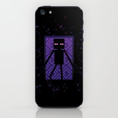 Here comes the Enderman! iPhone & iPod Skin