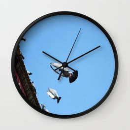 all day long Wall Clock