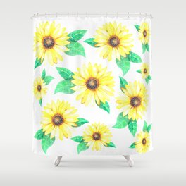 Why Worry? Shower Curtain