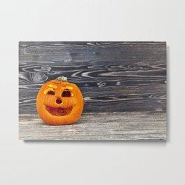 old wrinkled pumpkin Metal Print