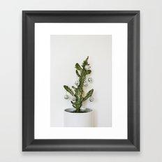 Cactus party Framed Art Print