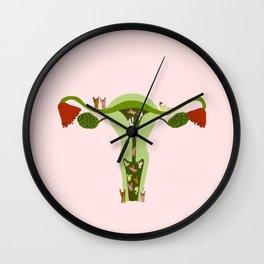 Carnation revolution Wall Clock