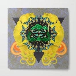 Medusa Mandala  Metal Print