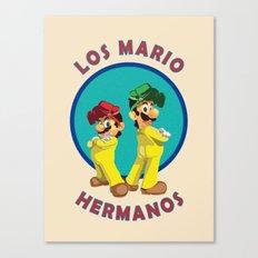 Los Mario Hermanos Canvas Print