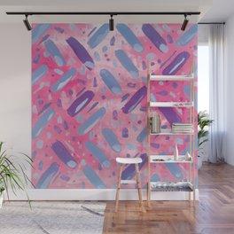 Festivities - Pink Wall Mural