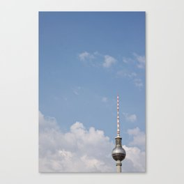 Radio Tower Berlin Canvas Print