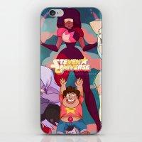 steven universe iPhone & iPod Skins featuring Steven Universe by Merunyaa (Meru)