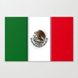 Fancy Flag: Mexico Canvas Print