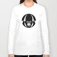 gorilla Long Sleeve T-shirts featuring Gorilla by Alvaro Tapia Hidalgo