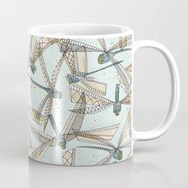watercolor dragonflies Coffee Mug