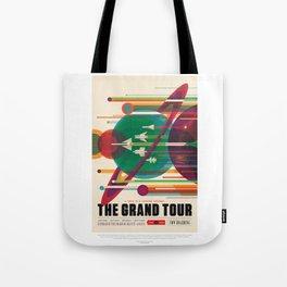 Grand Tour - NASA Space Travel Poster Tote Bag